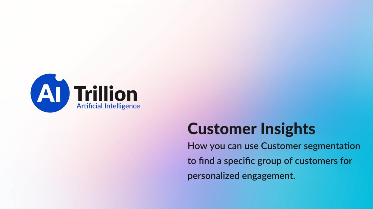 Customer Insights - Explainer Video